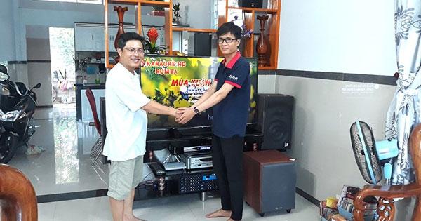 Lắp đặt dàn karaoke JBL cực hay, giá tốt cho anh Dũng ở Long Thành Đồng Nai