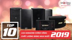 Top 10 loa karaoke chính hãng, chất lượng đáng mua nhất năm 2019