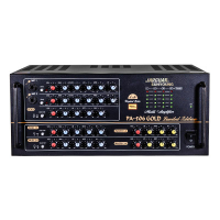 Amply Karaoke Jarguar PA-506 Gold Limited Edition