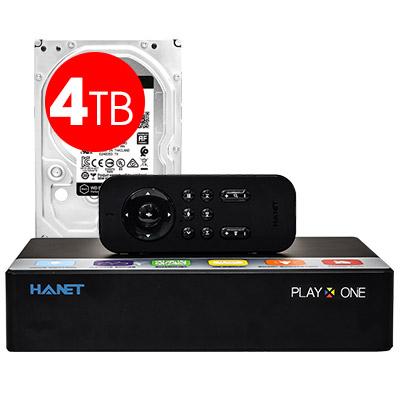 Đầu Hanet PlayX One 4TB