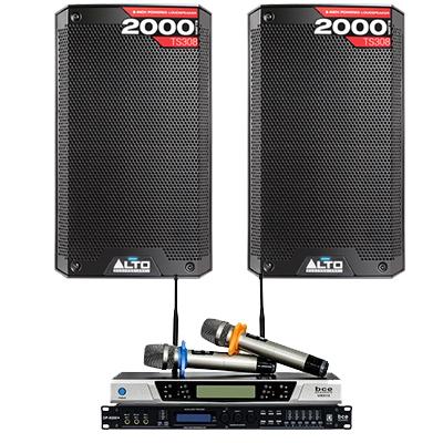 Dàn karaoke - Sân khấu Mini Alto 01