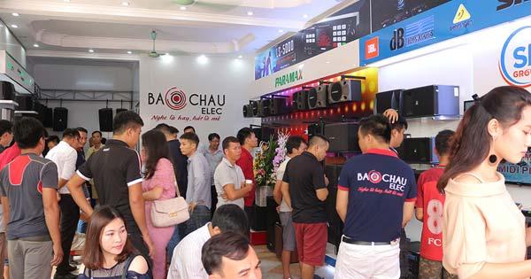 Giới thiệu về siêu thị âm thanh Bảo Châu Elec Bắc Ninh