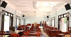 Lắp đặt dàn âm thanh hội trường Ban quản lý Cù Lao Chàm