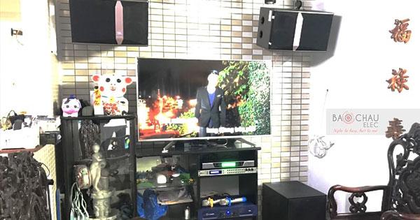 Lắp đặt dàn karaoke JBL hơn 30 triệu cho gia đình anh Thông tại Đà Nẵng