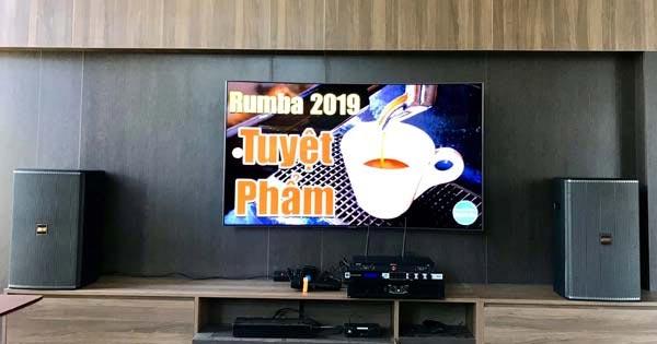 Lắp đặt dàn karaoke loa BMB 8012 cho gia đình anh Thanh tại Thanh Hóa