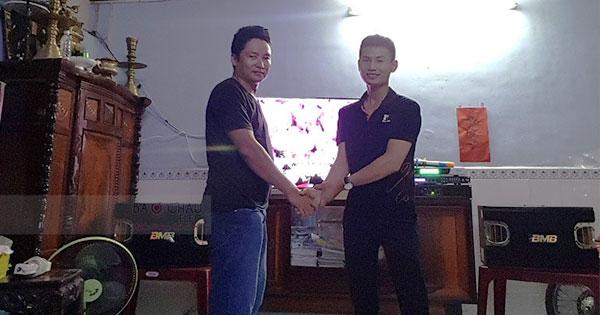 Lắp ráp dàn karaoke BMB cho gia đình anh Phú ở Quận 7 TPHCM