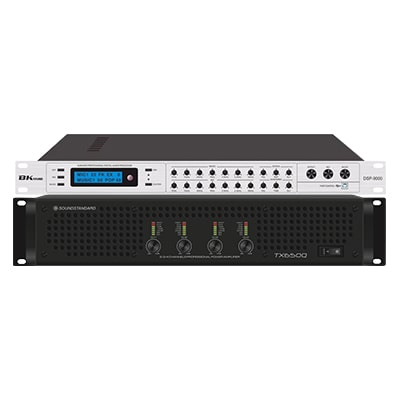 Combo KM04 (SoundStandard TX650Q + BK sound DSP9000)