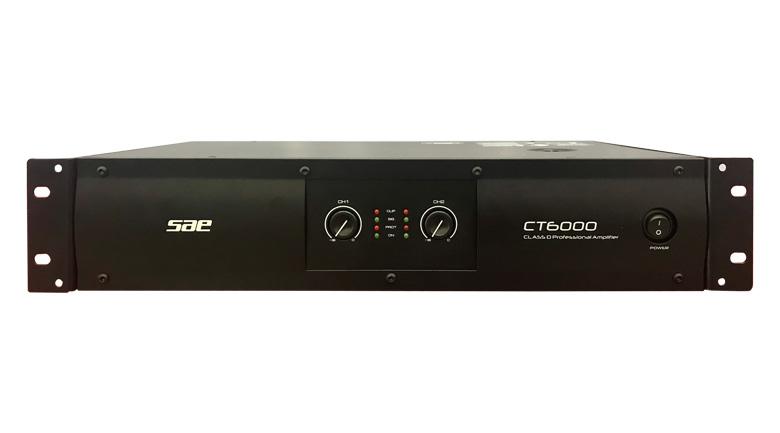 Cục đẩy công suất SAE CT6000 ver3 (2CHx600W)