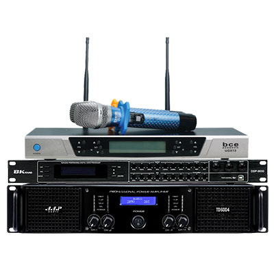 Combo KM13 (AAP TD6004 + BK sound DSP9000 + BCE UGX12 Luxury)
