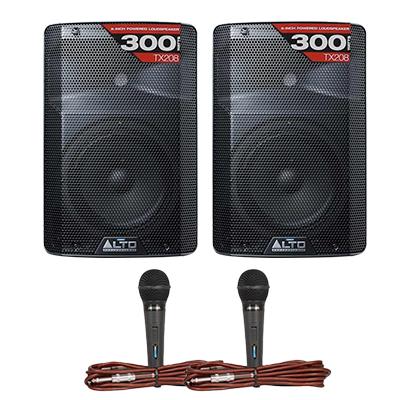 Combo loa + mic BC-LM01 (Alto TX208 + Jarguar SDM 305)