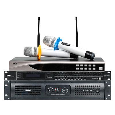 Combo KM12 (SAE CT6000 + BK sound DSP9000 + BCE U900 Plus New)