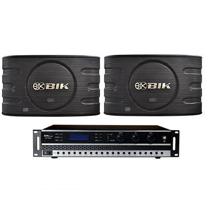Combo đẩy + loa BC-DL01 (BK sound DP3500 + BIK BJ-S668)