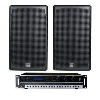 Combo đẩy + loa BC-DL04 (BK sound DP3500 + Alto AT1000)