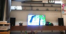 Dàn karaoke Alto của gia đình chị Dung ở Quận 4, HCM (Alto AT1000, Yamaha NS-SW300, SAE CT6000, BF K7, BCE UGX12, Hanet 1TB)