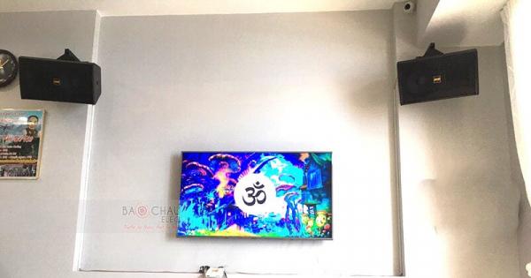 Dàn karaoke BMB cho gia đình anh Hòa ở Đồng Nai (BMB 2010C, R100SW, Alto AT700, JBL KX180, UGX12 Plus)