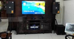 Dàn karaoke JBL cho gia đình anh Nhàn ở khu đô thị mới Bắc An Khánh (KES 6120, JBL A120P, JBL KX180, Crown T7, JBL VM300)