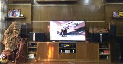 Lắp dàn JBL cho gia đình anh Thắng ở Thanh Trì, HN (JBL Ki510, Famous 7406, X5 Plus, UGX12 Gold)