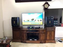 Lắp dàn karaoke BMB của gia đình anh Chinh ở Chương Mỹ, HN (BMB 2000C, BCE 8200, JBL KX180, BCE UGX12 Luxury)
