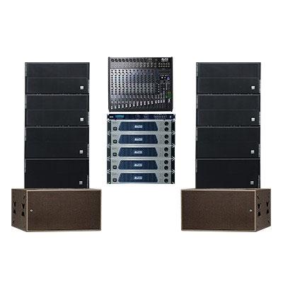 Hệ thống âm thanh Line Array Alto 02