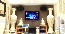 Dàn karaoke JBL VIP cho gia đình anh Hà ở HCM (JBL KP4012, JBL KP6018S, Crown Xli2500, JBL KX180, JBL VM300, K2 4TB)
