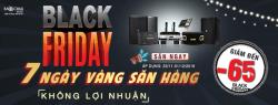 Siêu bão Black Friday – Bảo Châu Elec giảm giá 65% các thiết bị âm thanh