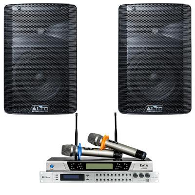 Dàn karaoke - Sân khấu Mini Alto 25