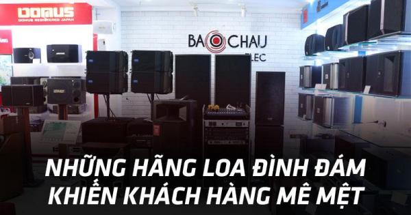 Những hãng loa karaoke đình đám khiến khách hàng mê mệt mùa mua sắm cuối năm