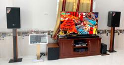 Lắp Đặt Dàn Karaoke Cao Cấp Cho Gia Đình Anh Sáng Ở Hậu Giang