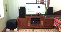 Lắp Đặt Dàn Karaoke Cho Gia Đình Anh Tuấn Ở Quế Võ, Bắc Ninh