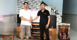 Lắp Đặt Dàn Karaoke Cho Gia Đình Chị Thơm Ở Biên Hòa