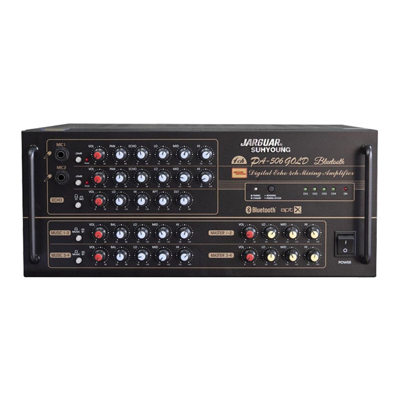 Amply Karaoke Jarguar PA-506 Gold Bluetooth