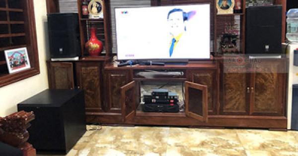 Lắp Đặt Dàn Karaoke Cho Gia Đình Anh Ánh Ở Yên Lạc, Vĩnh Phúc