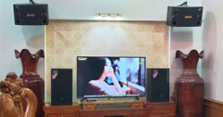 Lắp Đặt Dàn Karaoke Cho Gia Đình Anh Hiền Ở Đồng Văn, Vĩnh Phúc