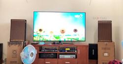 Lắp Đặt Dàn Karaoke Cho Gia Đình Anh Hùng Ở Thủ Đức