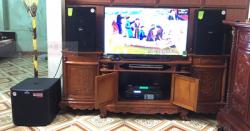 Lắp Đặt Dàn Karaoke Cho Gia Đình Anh Khải Ở Quế Võ, Bắc Ninh