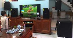 Lắp Đặt Dàn Karaoke Cho Gia Đình Anh Quân Ở Bắc Ninh