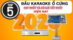 Top 5 đầu karaoke ổ cứng hay nhất và có giá tốt nhất hiện nay