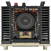 Amply Accuphase A250 mặt trên