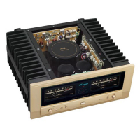 Amply Accuphase A47 mặt nghiêng