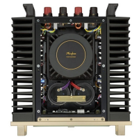 Amply Accuphase A75 mặt nghiêng