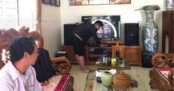 Lắp Đặt Dàn Karaoke Cho Gia Đình Anh Luận Ở Mê Linh, Hà Nội