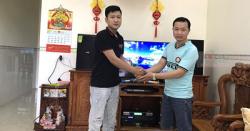 Lắp Đặt Dàn Karaoke Cho Gia Đình Anh Quang Ở Phước Tân, Biên Hòa