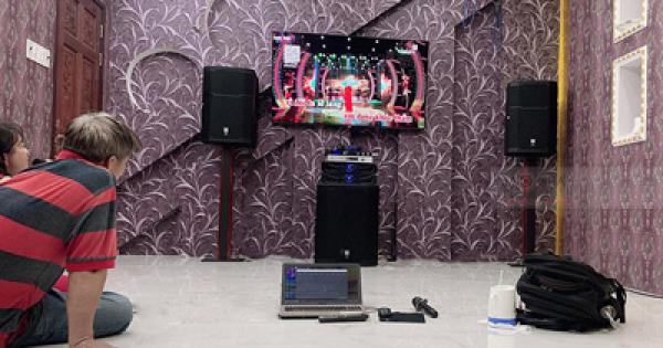 Lắp Đặt Dàn Karaoke Cho Gia Đình Anh Hiệp Ở Cần Thơ