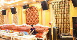 Lắp đặt hệ thống phòng hát karaoke chuyên nghiệp Paris tại Hưng Yên