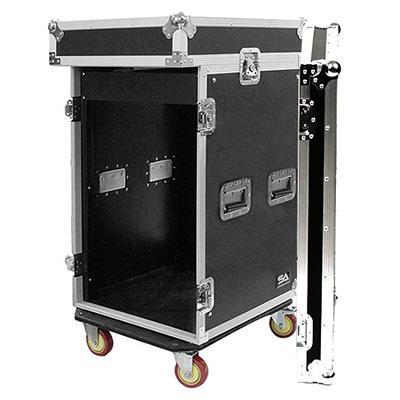 Tủ rack gỗ 16U (có mixer)