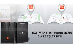 Mua loa JBL tại TPHCM - Đại lý loa JBL chính hãng