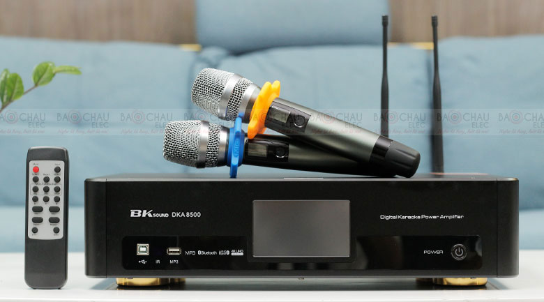 Digital Karaoke Power Amplifier BKSound DKA 8500