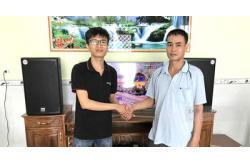Lắp Đặt Dàn Karaoke Cho Gia Đình Anh Khởi Ở Thuận An, Bình Dương