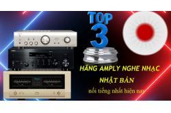 Top 3 hãng Amply nghe nhạc Nhật Bản nổi tiếng hiện nay