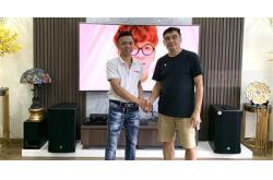 Lắp Đặt Dàn Karaoke Cho Gia Đình Chú Dũng Ở Vinhome Hàm Nghi, Hà Nội